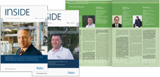 Forbo Inside � Titel, Seitenlayout | Forbo Inside � cover, page layout